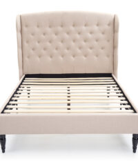 Classic Brands Brighton Upholstered Headboard And Platform Bed Frame