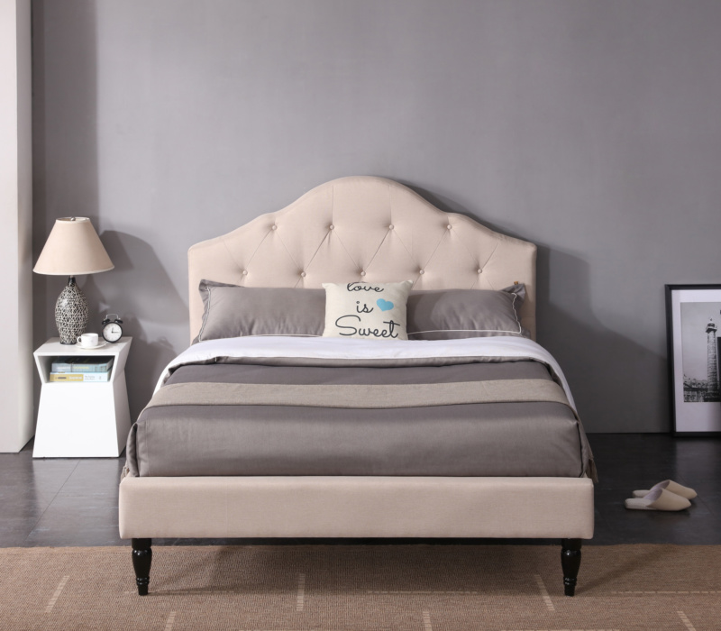 Winterhaven Upholstered Headboard And Bed Frame Classic