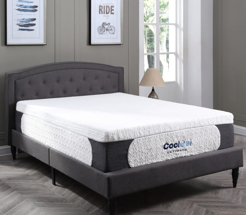 Cool Gel Ultimate 14 Inch Gel Memory Foam Mattress Classic Brands
